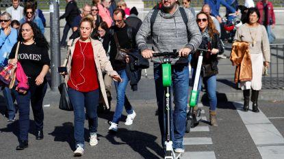 Eerste dodelijk ongeval met elektrische step in Spanje: vrouw (40) overleeft aanrijding niet