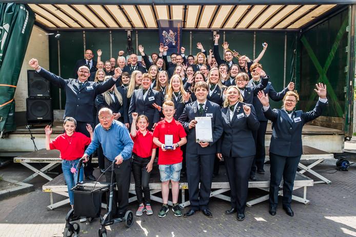 Muziekvereniging Concordia uit Driel mag zich sinds zondag Koninklijk noemen.