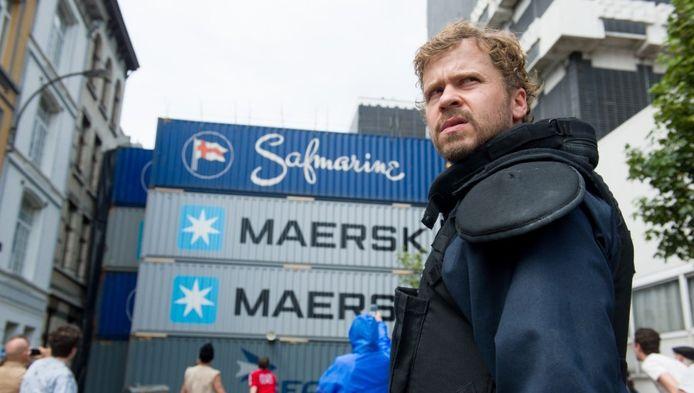 Wouter Hendrickx in de vtm-reeks 'Cordon'.