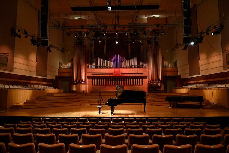 De Koningin Elisabethwedstrijd voor piano. Beeld Photo News