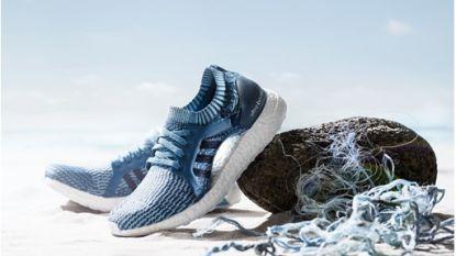 Sportschoenen van gerecycled plastic, ze komen eraan
