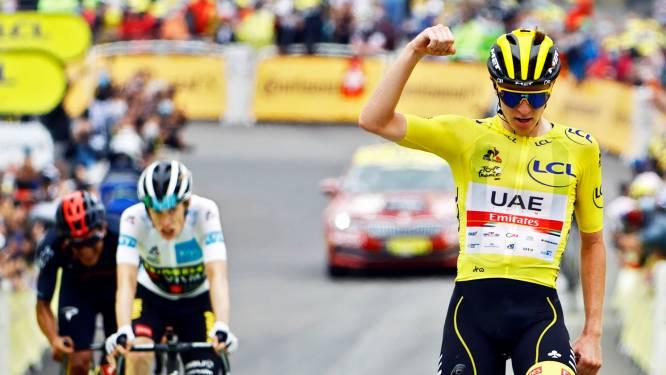 Offday van Uran, geslepen zet van Mas en wéér die machtige eindsprint van Pogacar: kijk naar de hoogtepunten van Tour-etappe 18
