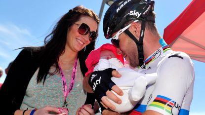 Mark Cavendish wordt opnieuw papa