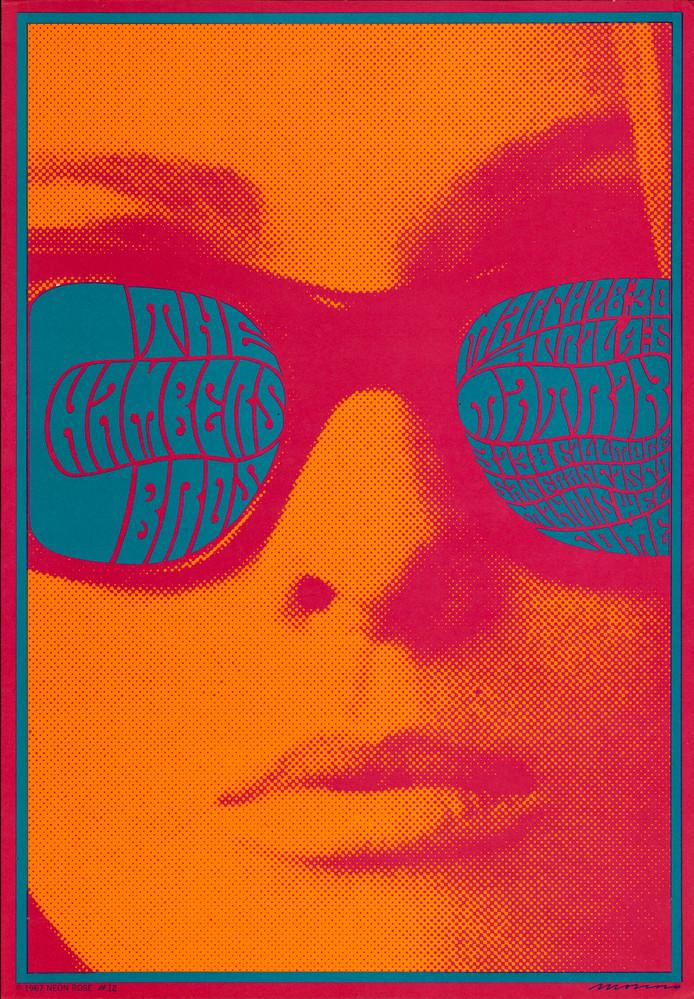 Psychedelische poster van Victor Moscoso uit 1967.