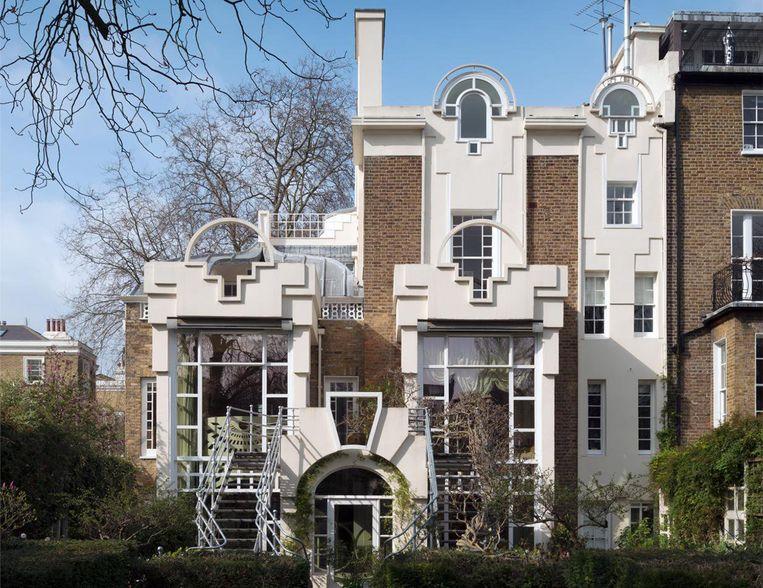 Het Thematic House in Londen deed dienst als locatie voor Jung Changs trouwreceptie. Beeld RV © Chris Redgrave | Historic England