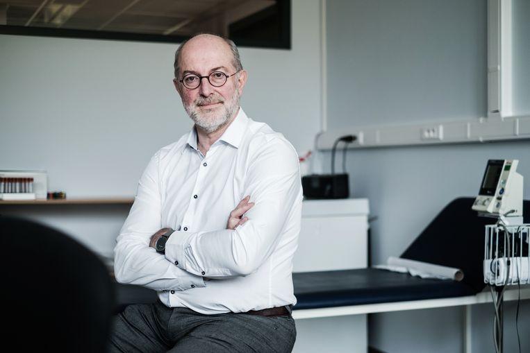 Vaccinoloog Pierre Vandamme (UAntwerpen).  Beeld Bob Van Mol