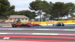 LIVE F1. Meteen tumult bij start, safetycar moet uitrukken na crash met Vettel