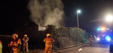 Brand bij pand dat door gemeente gesloten was op Drunens bedrijventerrein