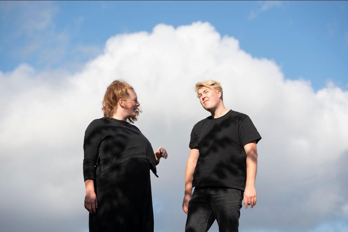 Esther Jongsma en Sam van Gurp.
