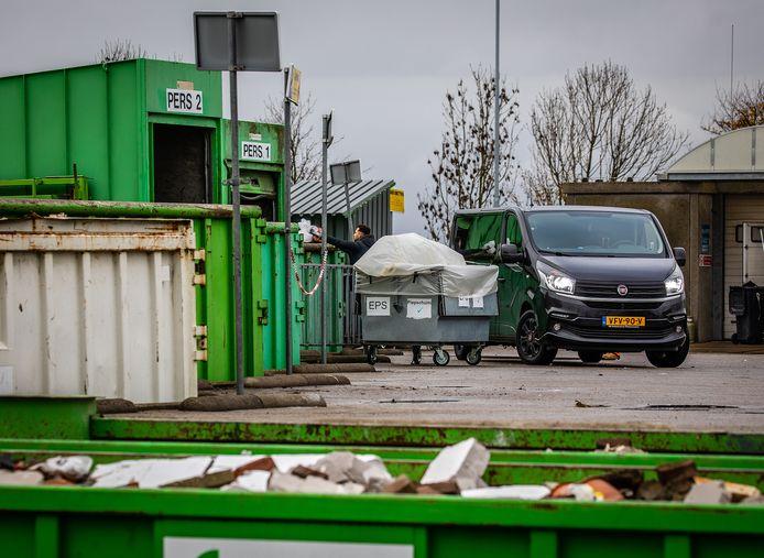 RAD afvalstraat in Westmaas.