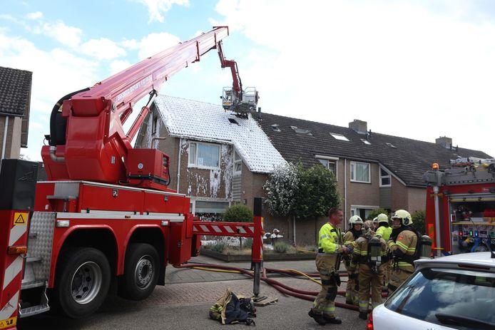 Brand in woning Sint-Oedenrode