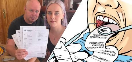 Lisanne (21) kreeg een rekening van 921 euro van de tandarts: hoe kon het zó hoog oplopen?