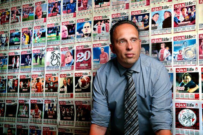 Fabian Nagtzaam, voorzitter van de supportersvereniging van Ajax.