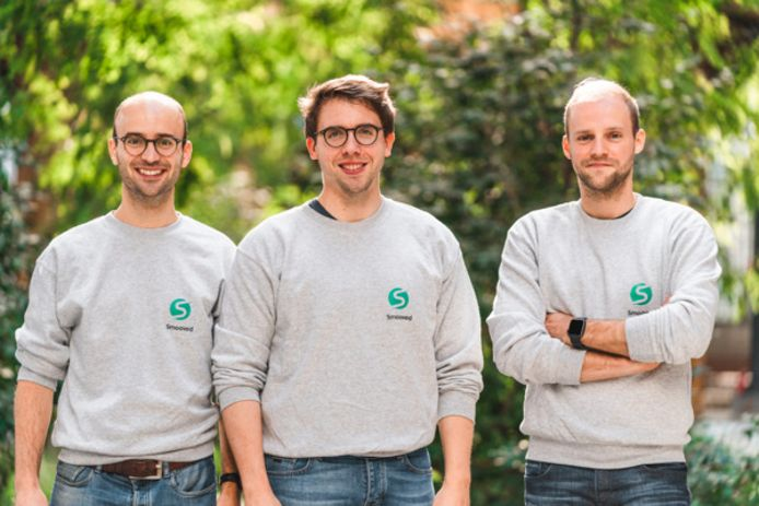 Ignace Buelens, Nathan Coox en Laurens Vanpoucke van Smooved.