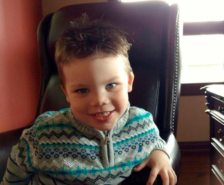 Het jongetje Lane Graves, dat werd meegesleurd door een alligator toen hij in het water in Disneyworld aan het spelen was. Beeld REUTERS