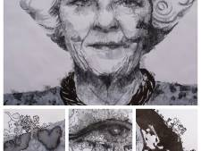 Veldhovense schilderijen van Beatrix tussen werk van Andy Warhol en andere grote kunstenaars