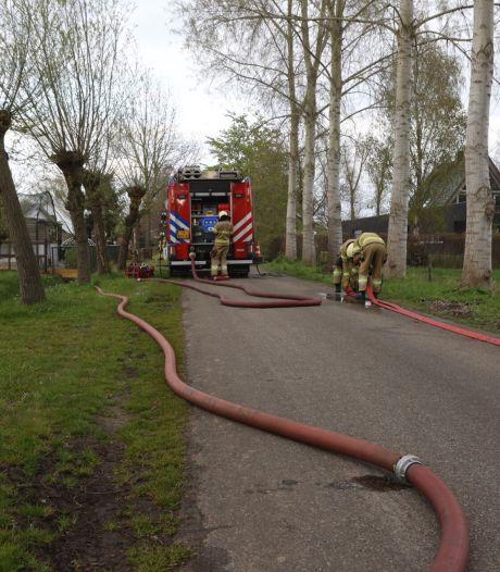 Asbest vrijgekomen bij brand in schuur in Gemonde