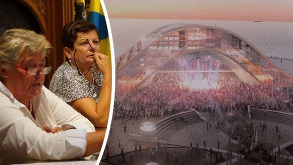 Onder meer Schepen Lilianne Pylyser Dewulf (CD&V) en burgemeester Janna Rommel-Opstaele (Open VLD) zouden meegenomen zijn voor verhoor.