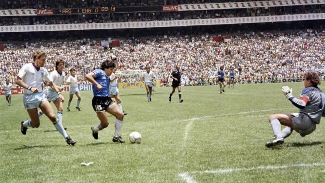 Kippenvel: iconische WK'86-bal brengt een laatste 'adiós' aan Diego Maradona