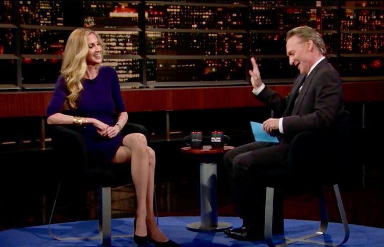 Bill Maher met columniste Ann Coulter. Beeld Still van tv