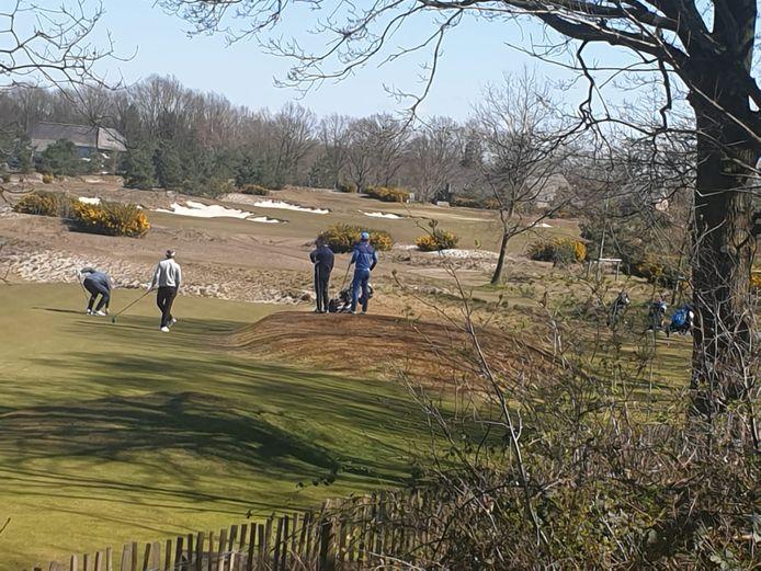 Golfbaan Bernardus in Cromvoirt.