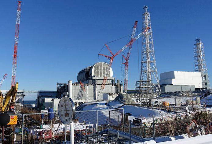 De nucleaire site op Fukushima, archiefbeeld.