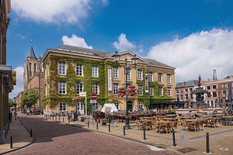 De binnenstad van Gorinchem. Beeld