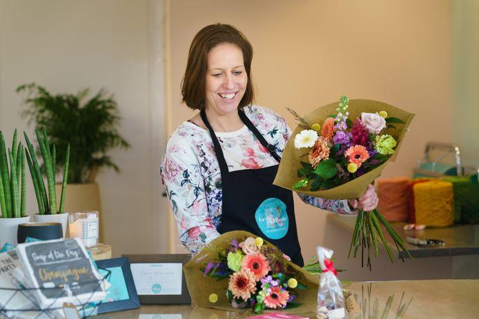 Evelyne Meerschaut van bloemenwinkel La Vie en Rhode.