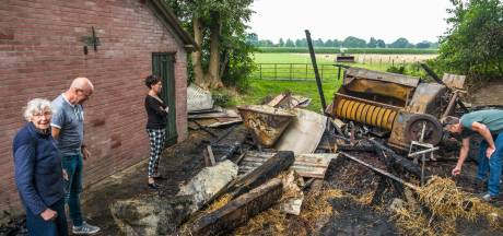Nachtelijke schuurbranden zetten Oldebroek op zijn kop: 'Om vier uur 's nachts stond de buurman op de ramen te bonzen'