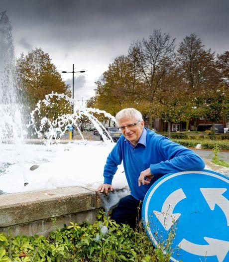 Fontein in Schijndel schuimt keer op keer: 'Het is wachten totdat er ongelukken gebeuren'