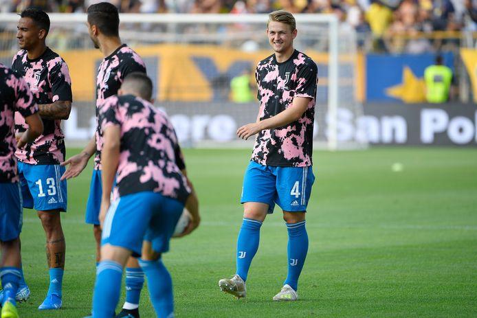 Matthijs de ligt of Juventus during Parma - Juventus NETHERLANDS, BELGIUM, LUXEMBURG ONLY COPYRIGHT BSR/SOCCRATES
