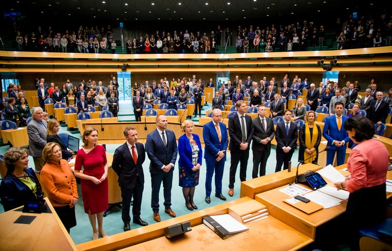 Volgens Liza Mügge en Zahra Runderkamp moet er in de politiek meer rekening worden gehouden met álle genders. Beeld Hollandse Hoogte /  ANP