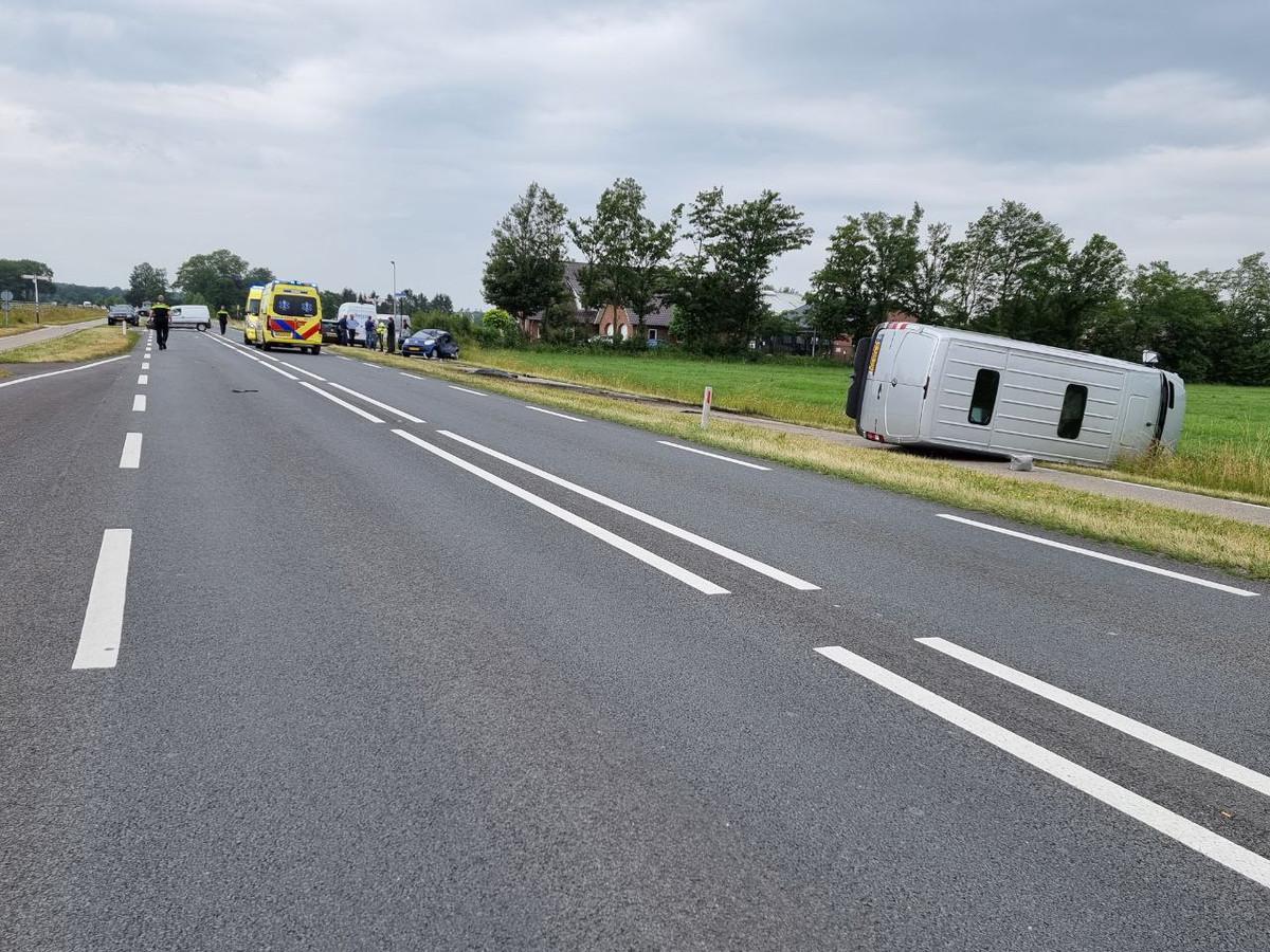Een ongeval in juni van dit jaar. CDA-raadslid Marcel Elferink wil de uitkomsten weten van de verkeerstellingen op de Haaksbergerstraat.