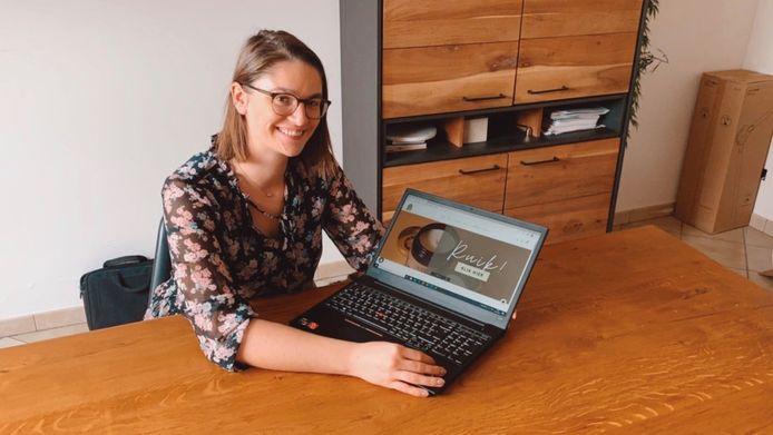 Michelle Geentjens (30) uit Malle zal met haar webshop Studio Snoes een andere koers varen: de focus verschuift naar producten van Belgisch-Nederlandse ondernemers