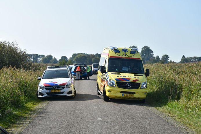 Gewonde bij verkeersruzie in Giethoorn