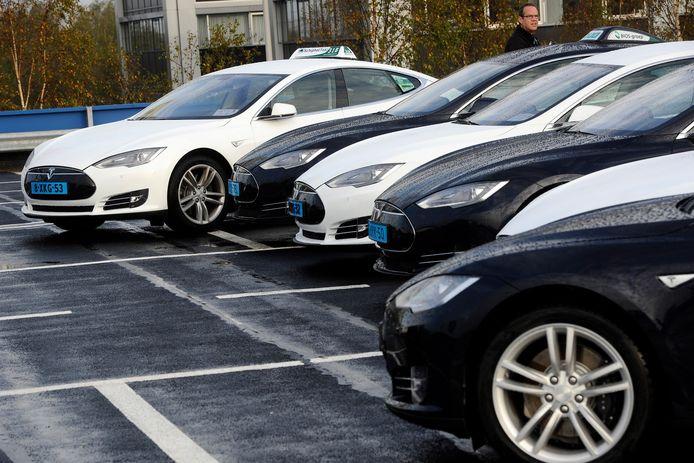 In Rotterdam worden alle taxi's uitstootvrij.