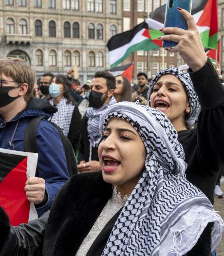 Pro-Palestinabetogers trekken door steden
