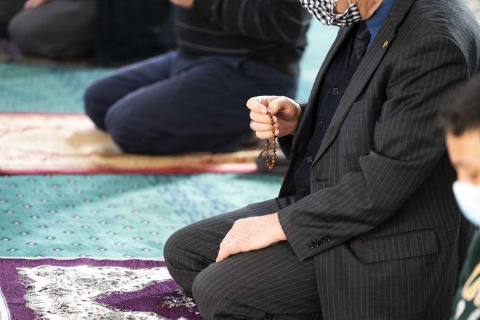 Mosquée turque à Hilversum, Pays-Bas (illustration)