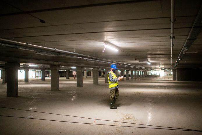 De nieuwe parking Steendok