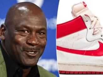 Basketschoenen van Michael Jordan geveild voor 1,5 miljoen dollar