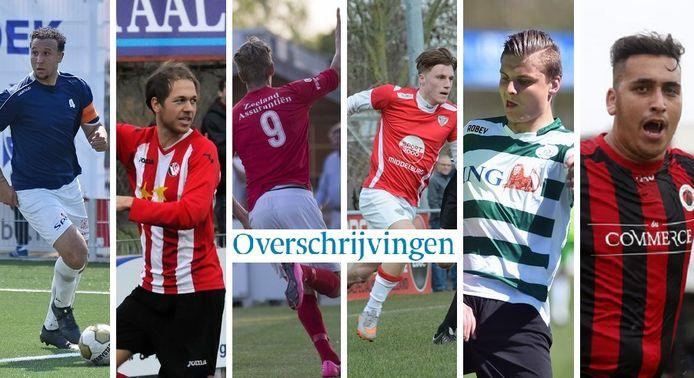 Giovanni Siereveld, Etienne Mallie, Steve Schalkwijk, Celino Davidse, Daniël Wissel en Can Kiran vonden al vroeg een nieuwe club. Welke overschrijvingen volgden er nog?