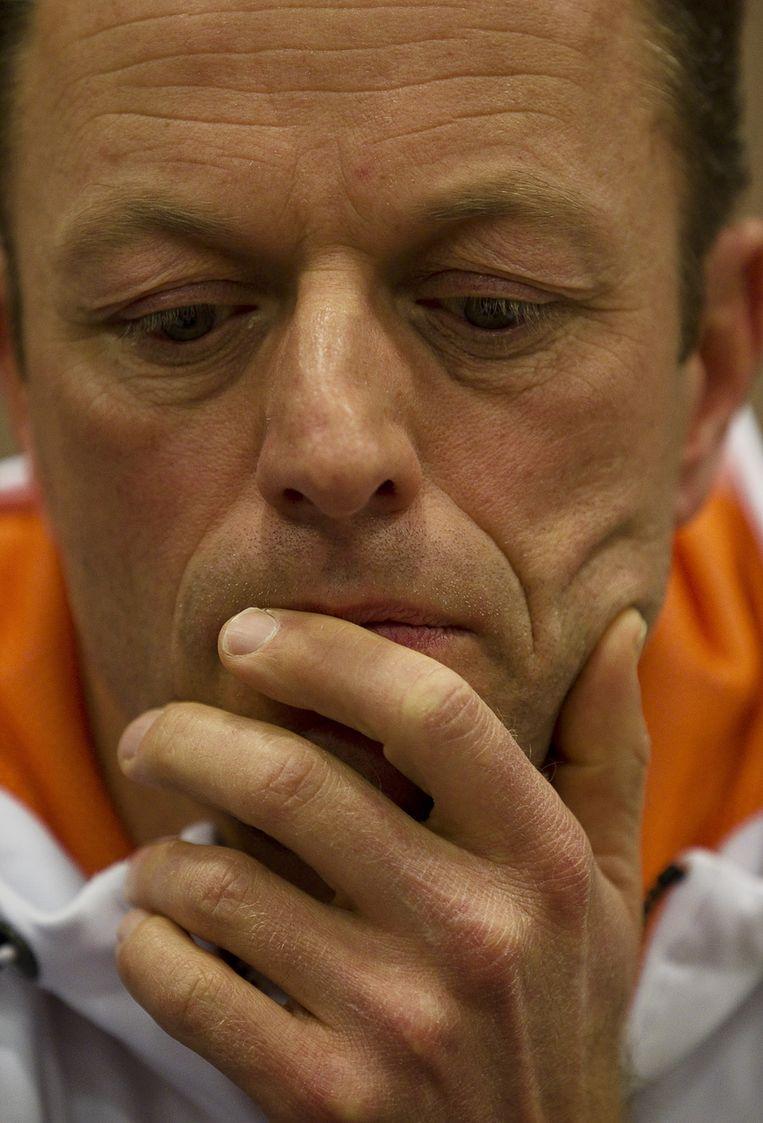 Coach Gerard Kemkers. © ANP<br /> Beeld