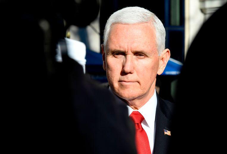 Vicepresident Mike Pence (THOMAS KIENZLE / AFP)