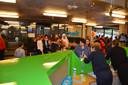 Er was veel volk voor het verjaardagsfeest van speelotheek Sloeber.