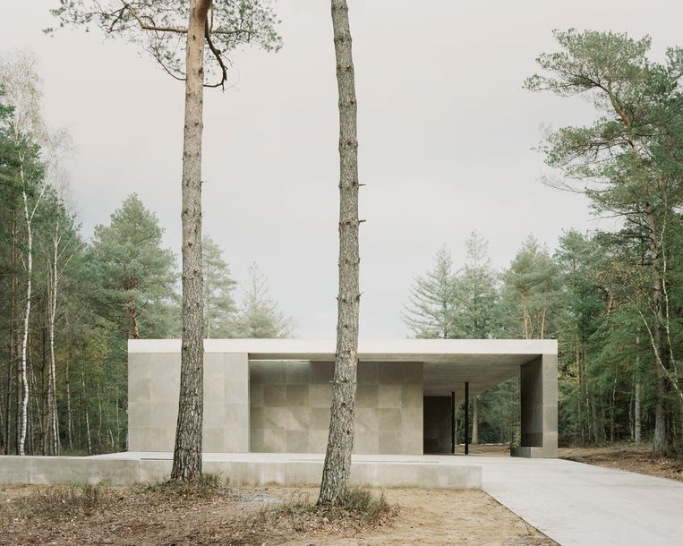 Paviljoen Erebegraafplaats Loenen. Beeld Simone Bossi / Kaan architecten