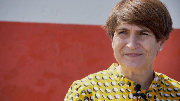 Ploumen: 'Feit is: macht doet iets, macht schept gelegenheid.' Beeld Martijn Beekman / de Volkskrant