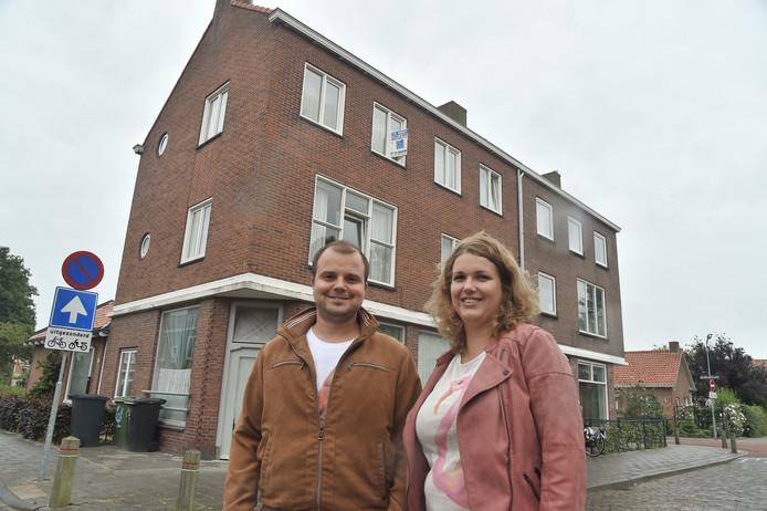 Bianca en Arnold proberen al twee jaar hun appartement in Vlissingen te verkopen.