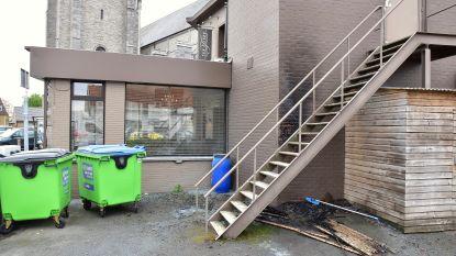 Alweer brandstichting op wijk 't Gaverke: zijgevel restaurant Ter Torre beschadigd