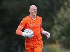 VV Dongen-goalie Sprangers let extra op de keepers dit EK: 'Juichen na een redding, daar kan ik van genieten'