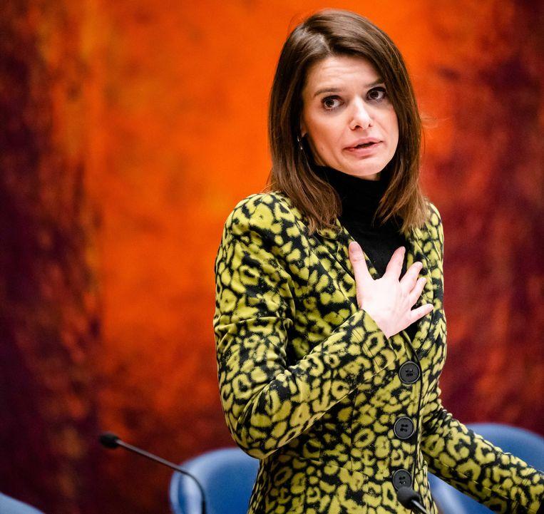 Staatssecretaris Barbara Visser van Defensie (VVD). Beeld ANP